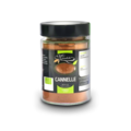 Cannelle bio* - Moulu(e) - Pot verre 370 ml  130 g épice bio