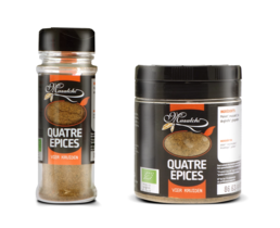 Curry Quatre épices bio* épice bio